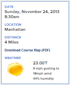 Wind Chill Factor: feels like 11 degrees.