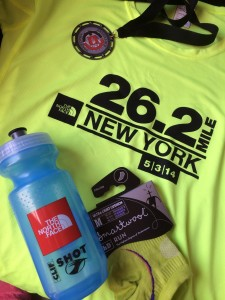 North Face endurance challenge swag