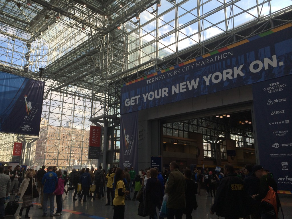 tcs new york city marathon expo